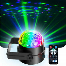 Mini RGB Portable Led Stage Laser Light DJ KTV Projector Disco Party Strobe Lamp