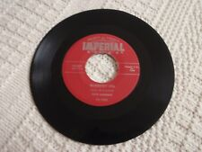 FATS DOMINO  BLUEBERRY HILL/HONEY CHILE IMPERIAL 5407 RED LABEL