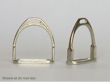 1:6 Scale English Stirrups for Model Horse Sculptures