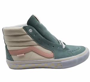 Vans Sk8-Hi Pro Washout Mens Blue Antique Sneaker Shoes 10 NEW