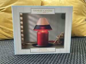 Brand New Yankee Candle Beach House Large Shade and Tray