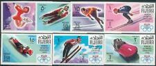 Fujeira 1968 ** Mi.214/20 B Olympische Spiele Winter Olympic Games