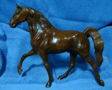Vintage Hartland Plastics Woodgrain Tennessee Walking Horse Woodcut Model