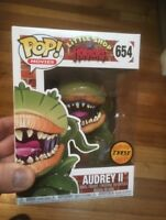 Rare Bloody Audrey II Chase Funko Pop Vinyl New in Mint Box + P/P