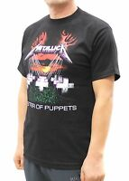 Metallica Rock Band Graphic T-Shirts Master of Puppets
