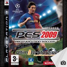 Jeu PS3 PES 09 Pro Evolution Soccer 2009 - PlayStation 3 - Konami