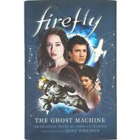 Firefly The Ghost Machine Hardcover Book Exclusive Cover Art Plus Bonus Story