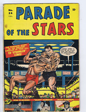 Parade of the Stars #26 Bell Features Pub CANADIAN EDITION Jackie Robinson Story