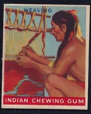 1947 INDIAN GUM 'WEAVING' EX+ #55