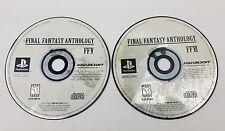 Final Fantasy Anthology FFVI FFV (Sony PlayStation 1, 1999) PS1 GAME DISCS ONLY