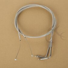 """51-1/2"""" Throttle Cable For Harley Road King Dyna Softail FLH FLT FXD FLST FXST"""