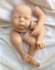 """Reborn Doll Kits Soft vinyl Head+3/4 Limbs DIY Blank 20"""" Newborn Doll Kit"""