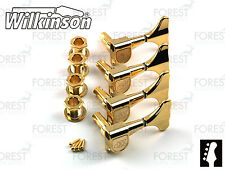 Wilkinson ® WJB650 Bass guitar machine heads Ibanez ® style, Gold finish