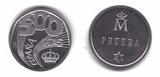 ESPAÑA  SPAIN  1987  500 PESETAS  PRUEBA DE ANVERSO NIQUEL  TIPO III