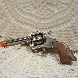 "Vintage Toy Schylling Diecast Toy Cap Gun 7"" TC 7280 Very Clean 🔫"