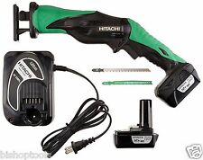 Hitachi CJ10DL 12-Volt Peak Lithium Ion Mini Reciprocating Jig Saw blade Kit NEW