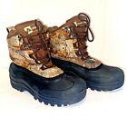 Ozark Trail Men's 3M Thinsulate Realtree Camo Winter Boots Flex Comfort Size 8M
