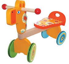 Wooden Ride On Giraffe Trike