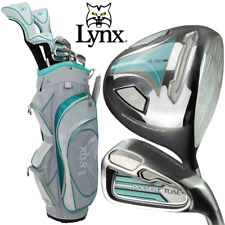 Lynx Powertune Boxed Ladies Graphite Golf Set & Cart Bag Right Hand Brand New