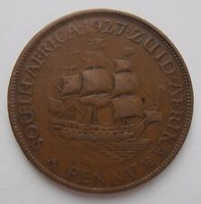 SOUTH AFRICA PENNY 1927