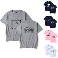 XXXtentacion 3D Print Men T Shirt Summer Print Tee Short Sleeve Hip Hop Cotton