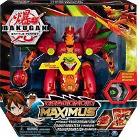 Bakugan 6051243 Dragonoid Maximus 20.3 cm Transforming Figure Lights & Sounds