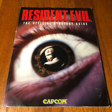 Resident Evil 1 Official Strategy Guide PlayStation PS1 Capcom 1996