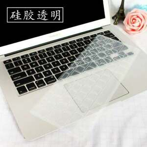 Elegant Colorful Silicone Keyboard Cover For Macbook Air Pro 11 12 13 15 16 inch