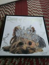 """Yorkshire Terrier/Yorkie Canvas Print """"Queen Of Everything�"""