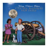 1995 Young Collectors Half Commemorative Dollar Civil War Battlefield Mint State