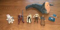 Lot Of 7 Star Wars 1990's LFL Hasbro Kenner Jabba the Hutt-robots-Action Figures