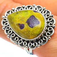 Large Atlantisite 925 Sterling Silver Ring Size 9.5 Ana Co Jewelry R45790F