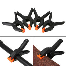 4Pcs 4 Inch Plastic Spring Clips Clamps Set For Paper Photo Woodworking Backdrop