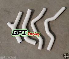 Silicone radiator hose Honda CR500 CR500R 1985-1988 86 87 88 85 86 87 88 WHI
