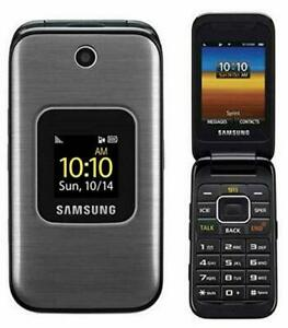 Samsung SPH M400 - Metallic Silver (Sprint) Cellular Phone Tello Compatible