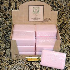 Pre de Provence French Soap PEONY Scent Case of 12 x 250 Gram Bath Shower Bars