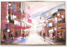 Abstrakte künstlerische Malerei auf Leinwand im Historismus-Verkäufer Kunsthändler