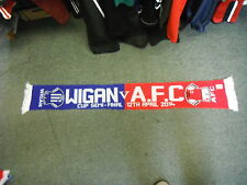 Wigan V A.F.C. 12th April 2014 Football Supporters Scarf