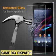 0,30 mm Genuino De Vidrio Templado Film Protector De Pantalla Sony Xperia Z1 L39h & Paquete