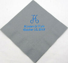50 Personalized birthday luncheon napkins custom printed birthday favors