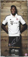 David ALABA - Österreich, FC Bayern München 2013/14, Original-Autogramm!