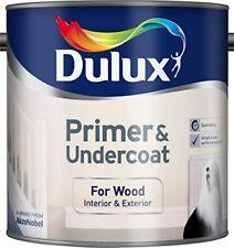 Dulux 5092090 Primer/sottostrato per pavimenti in legno 2 5 litri colore Bian