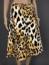 ** VALLEYGIRL ** NWOT * Sz 10 Leopard Print A-line Occasion Skirt - (A584)