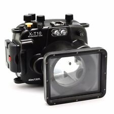 Meikon 40m Unterwasser Tauchen Kamera Gehäuse Case für Fuji X-T10 X-T20 16-50mm
