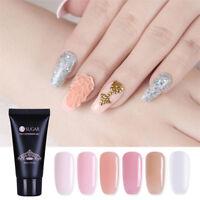 UR SUGAR Clear Pink Poly Polish Gel Quick Building Gel Finger Extension Gel 30ml