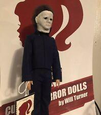 "SALE! Michael Myers CUSTOM HORROR DOLL Halloween 2018 OOAK 12"" Action Figure"
