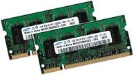 2x 1GB 2GB RAM SAMSUNG Speicher Fujitsu-Siemens LIFEBOOK V1010 DDR2 667 Mhz