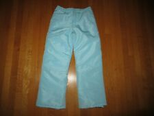 New The Children's Place Girl's Pale Blue Snow Pants Size 10 Nwot