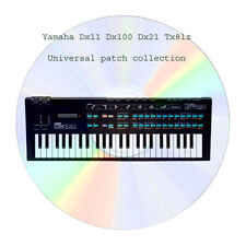 Yamaha Dx100 Dx21 Dx11 Tx81z  Unverse patch collection + editors
