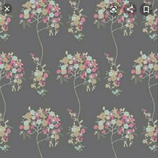 Cherie Tree Art Gallery Fabric Quilt Cotton Grey floral fabric